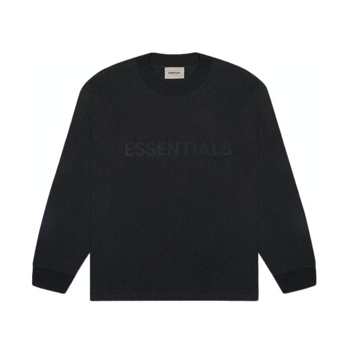 FOG Essentials - Black Logo Long Sleeve Tee - Centrall Online