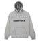 FOG Essentials - Oatmeal Heather 3D Logo Hoodie - Centrall Online