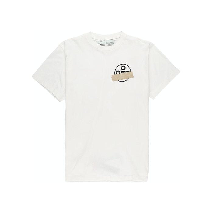 Off-White - White Tape Arrows Tee - Centrall Online