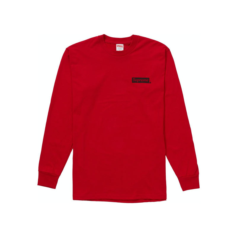 Supreme Sacred Unique L/S Tee Red - Centrall Online