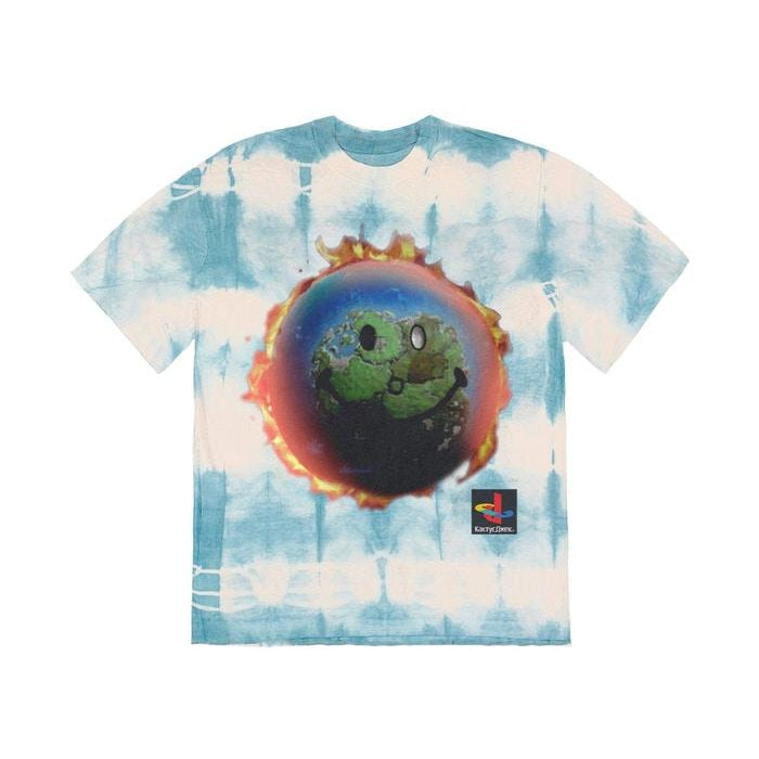 Travis Scott The Scotts World Tie Dye T-Shirt Tie Dye - Centrall Online
