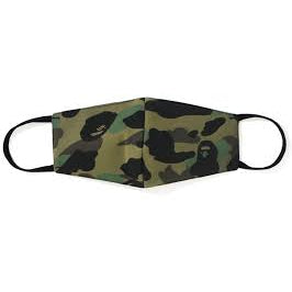 Bape Mask Camo was (Dark green) - Centrall Online