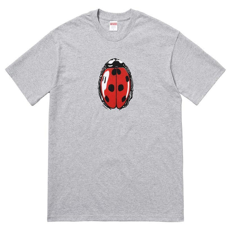 Supreme lady bug tee heather grey - Centrall Online