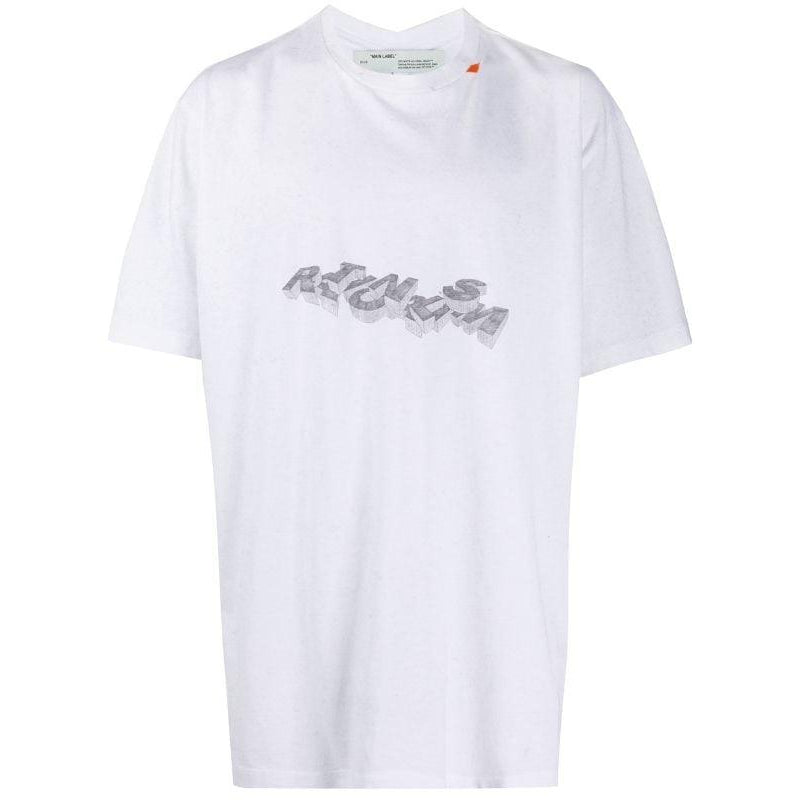 Off-White Rationalism Print Oversized T-Shirt SS20 - Centrall Online