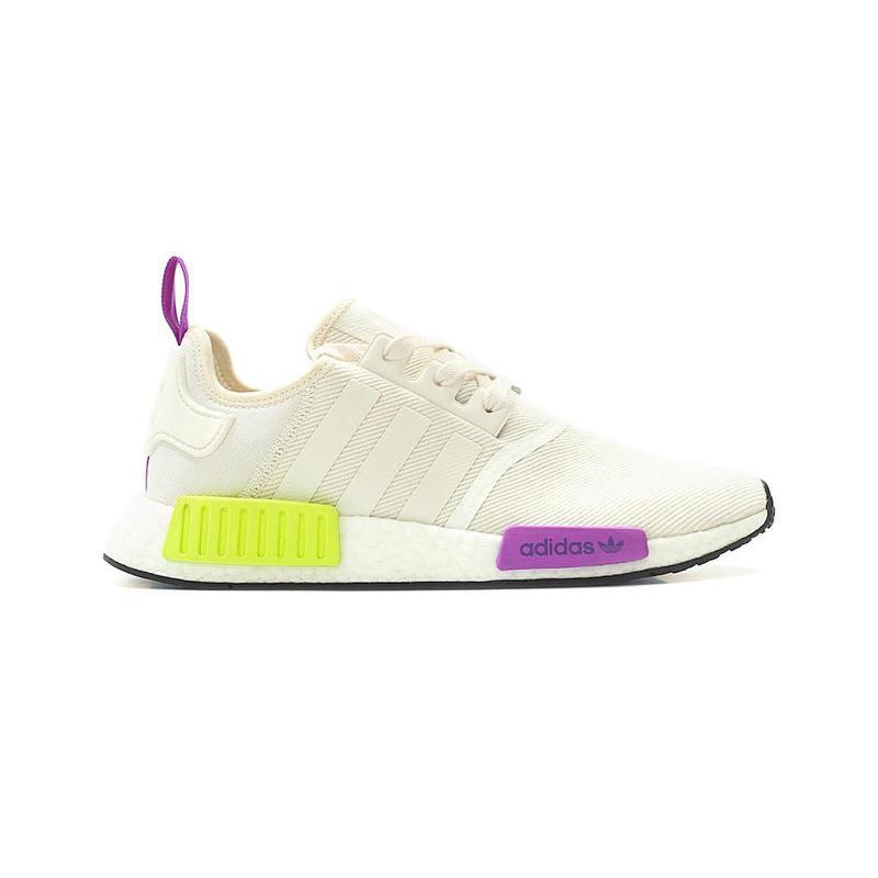 Adidas NMD_R1 Chalk White/Semi Solar Yellow - Centrall Online