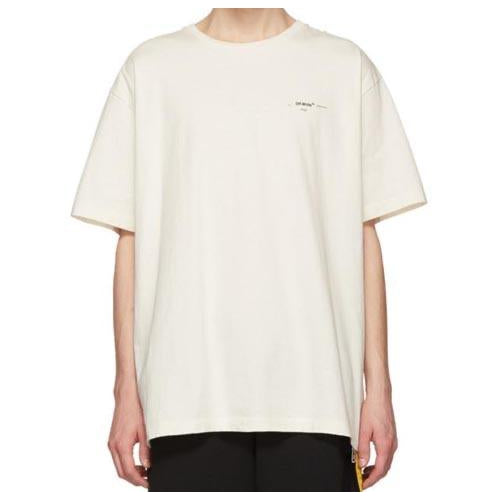 Off-White - White Monet Arrows Tee - Centrall Online