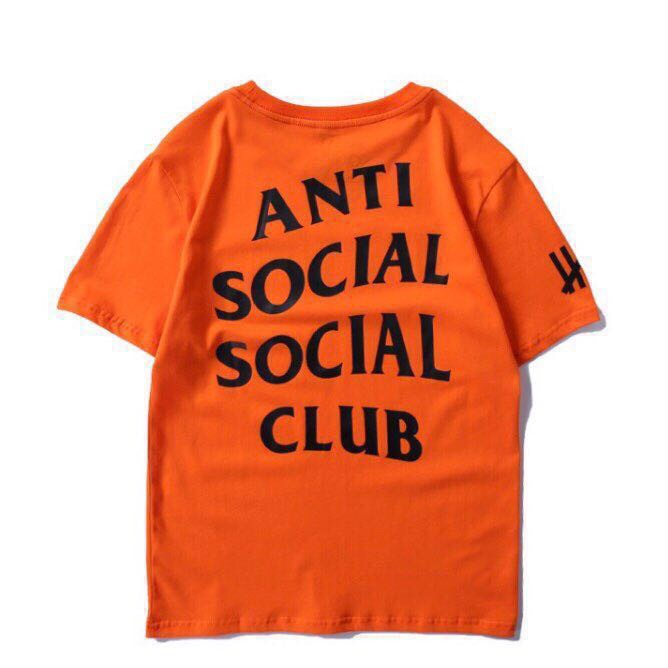 ASSC T-shirt x undefeated Tee - Paranoid Orange - Centrall Online