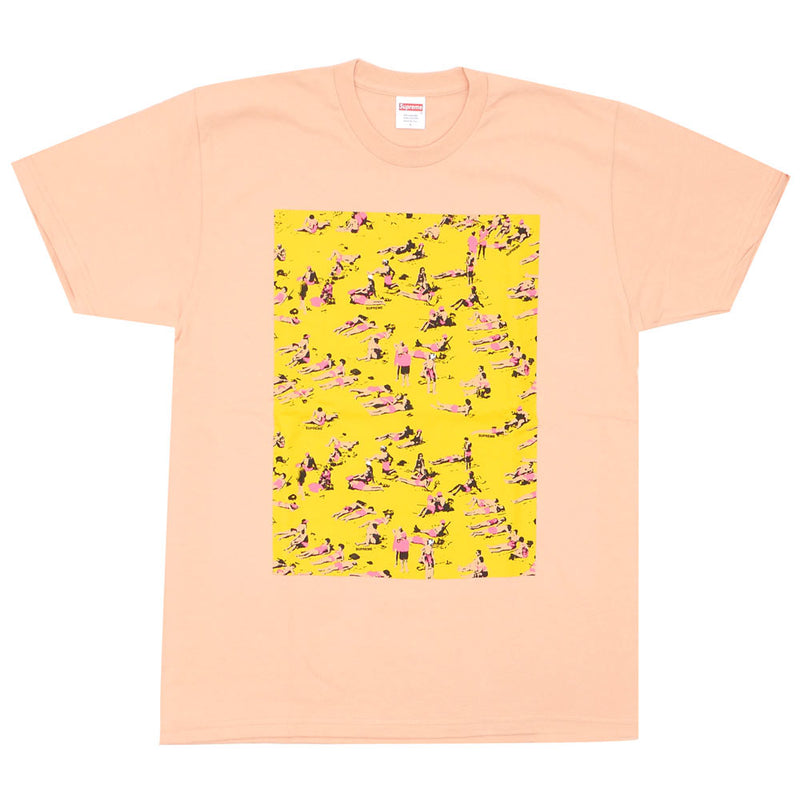 Supreme Beach Tee Peach