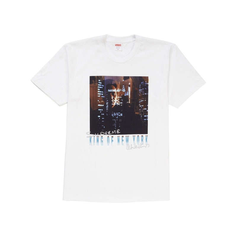 Supreme King of New York White Tee