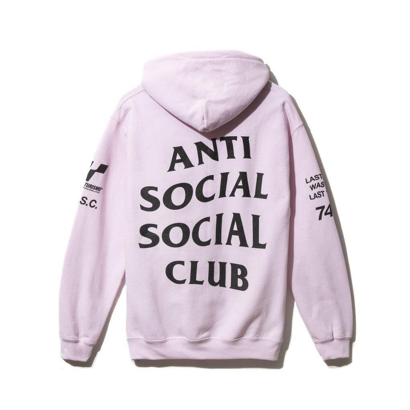 "ASSC ""Grand Turismo Hoodie"" Pink - Centrall Online"