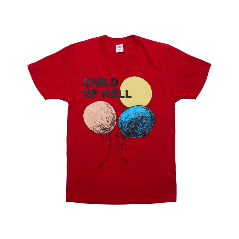 Supreme Child Of Hell T-Shirt Red