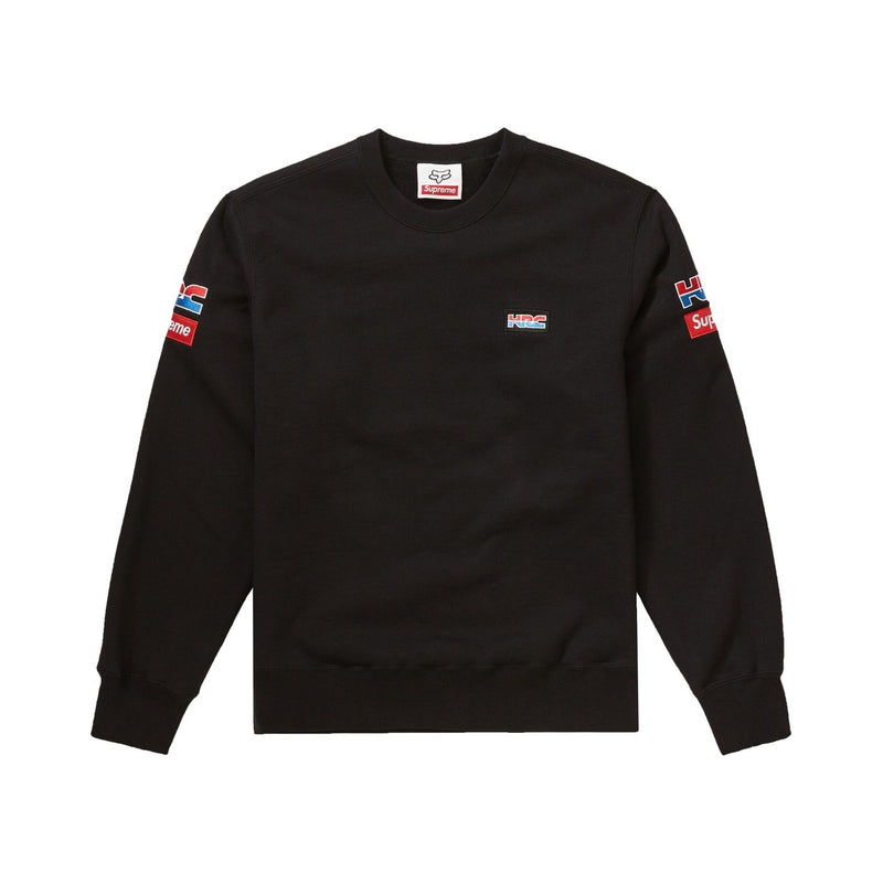 Supreme Honda Racing Crewneck Black