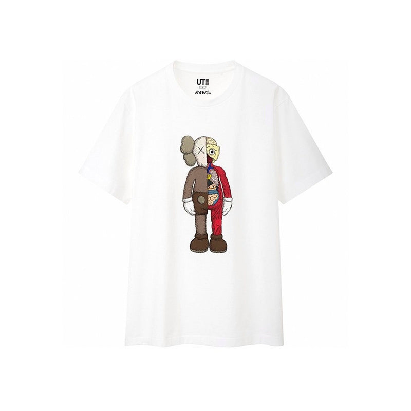 "Kaws x Uniqlo T-Shirt Flayed ""White"""