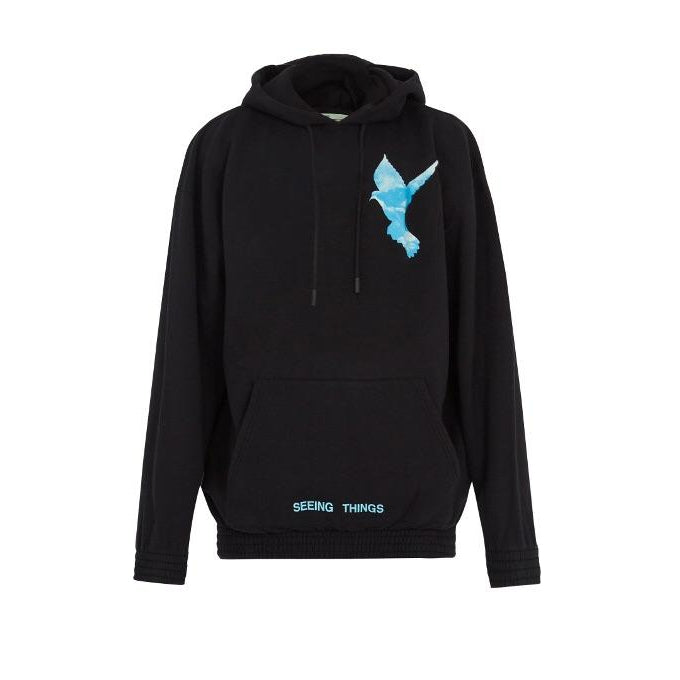 "Off White x Not Real Dove Hoodie ""Black"" - Centrall Online"