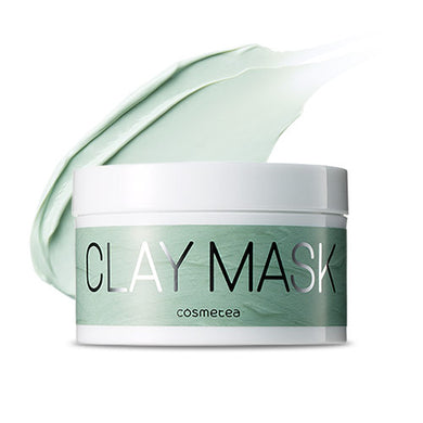 COSMETEA Peppermint Tea Green Clay Mask 200ml
