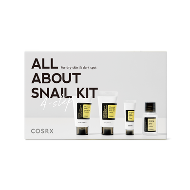 Cosrx ALL ABOUT SNAIL KIT 4-step