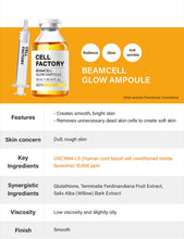 Load image into Gallery viewer, GD11 Cell Factory Beamcell Glow Ampoule 35ml