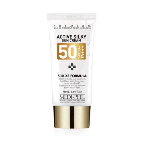 MEDI-PEEL Active Silky Sun Cream SPF50+ PA+++ 50ml