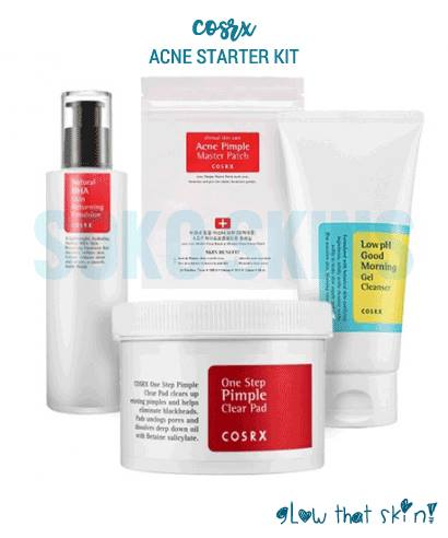 Cosrx Acne Starter Kit