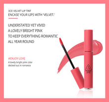 Load image into Gallery viewer, 3CE Velvet Lip Tint #ENJOY LOVE