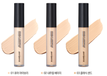 Load image into Gallery viewer, PERIPERA Double Longwear Cover Concealer 5.5g #01 Pure Ivory