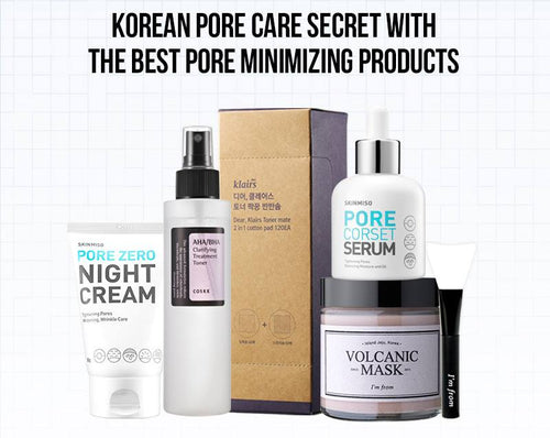 THE BEST KOREAN PORE CARE SECRET KIT