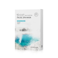 Load image into Gallery viewer, LOOKS&MEII Daily Purifying Facial Spa Mask 10EA