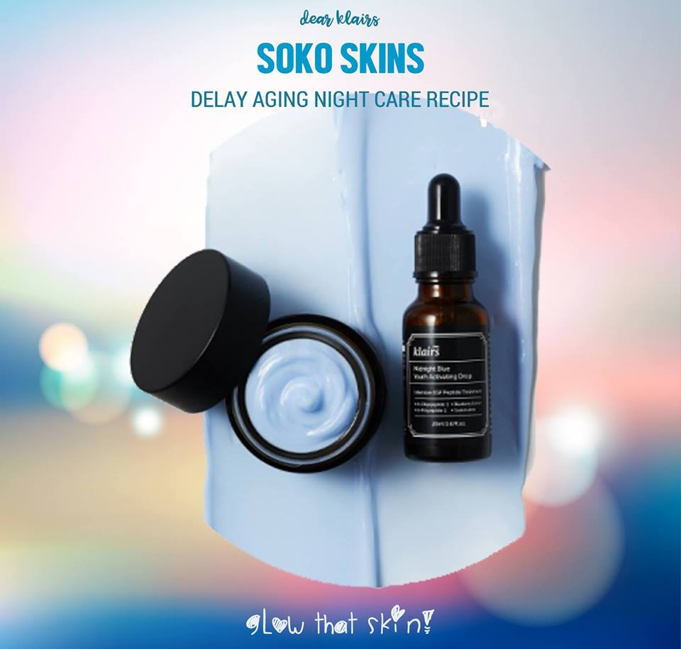 Klairs DELAY AGING NIGHT CARE RECIPE