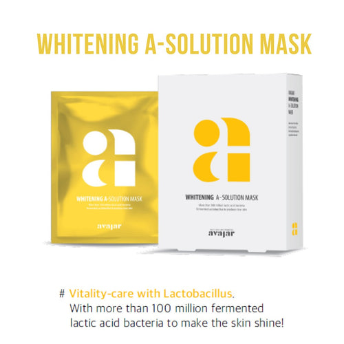 avajar - A-Solution Mask Whitening 1EA