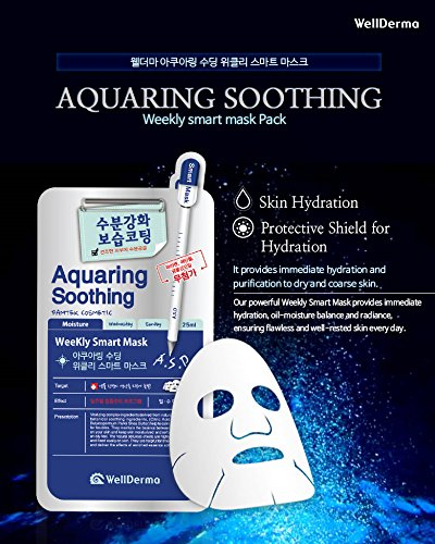 WellDerma Aquaring Soothing Weekly Smart Mask 10EA