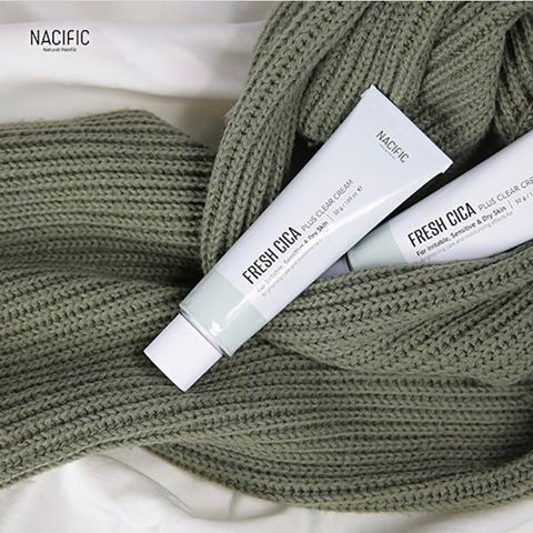 NACIFIC Fresh Cica Plus Clear Cream 50g