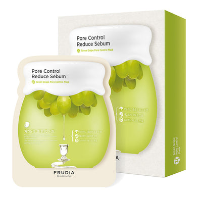 FRUDIA Green Grape Pore Control Sheet Mask (5pcs)