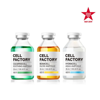 GD11 Cell Factory Ampoule Bundle + Free 3 Powerball + Free Filter Sunscreen