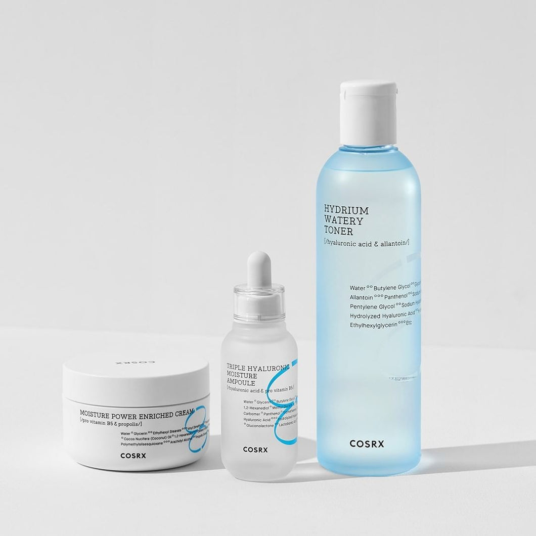 Cosrx Hydrium Line For dry/dehydrated skin