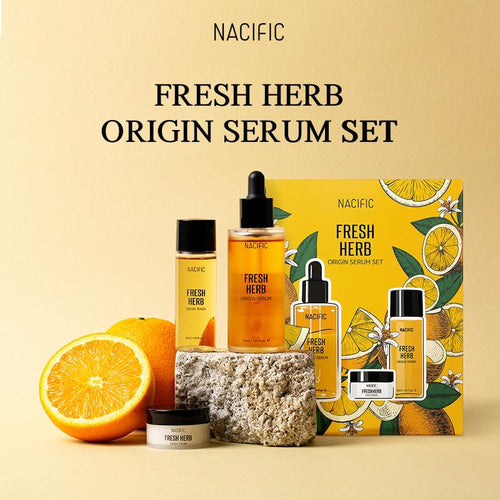 Nacific Fresh Herb Original Serum Set