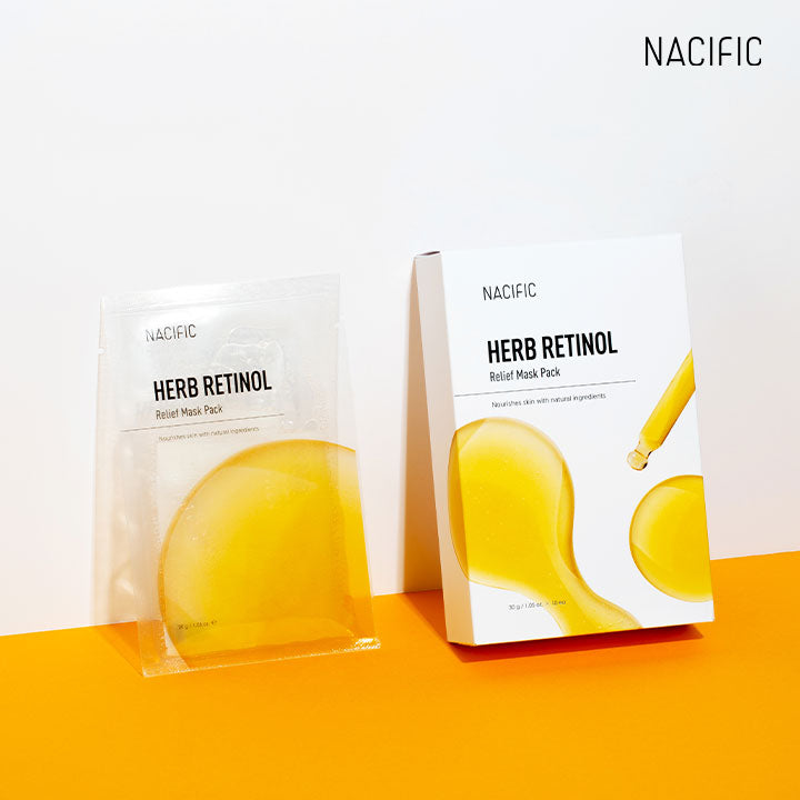 NACIFIC Herb Retinol Relief Mask Pack 10 EA