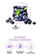 Load image into Gallery viewer, FRUDIA Blueberry Hydrating Sheet Mask (5pcs)