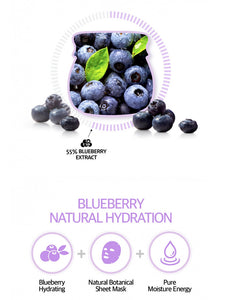 FRUDIA Blueberry Hydrating Sheet Mask (5pcs)