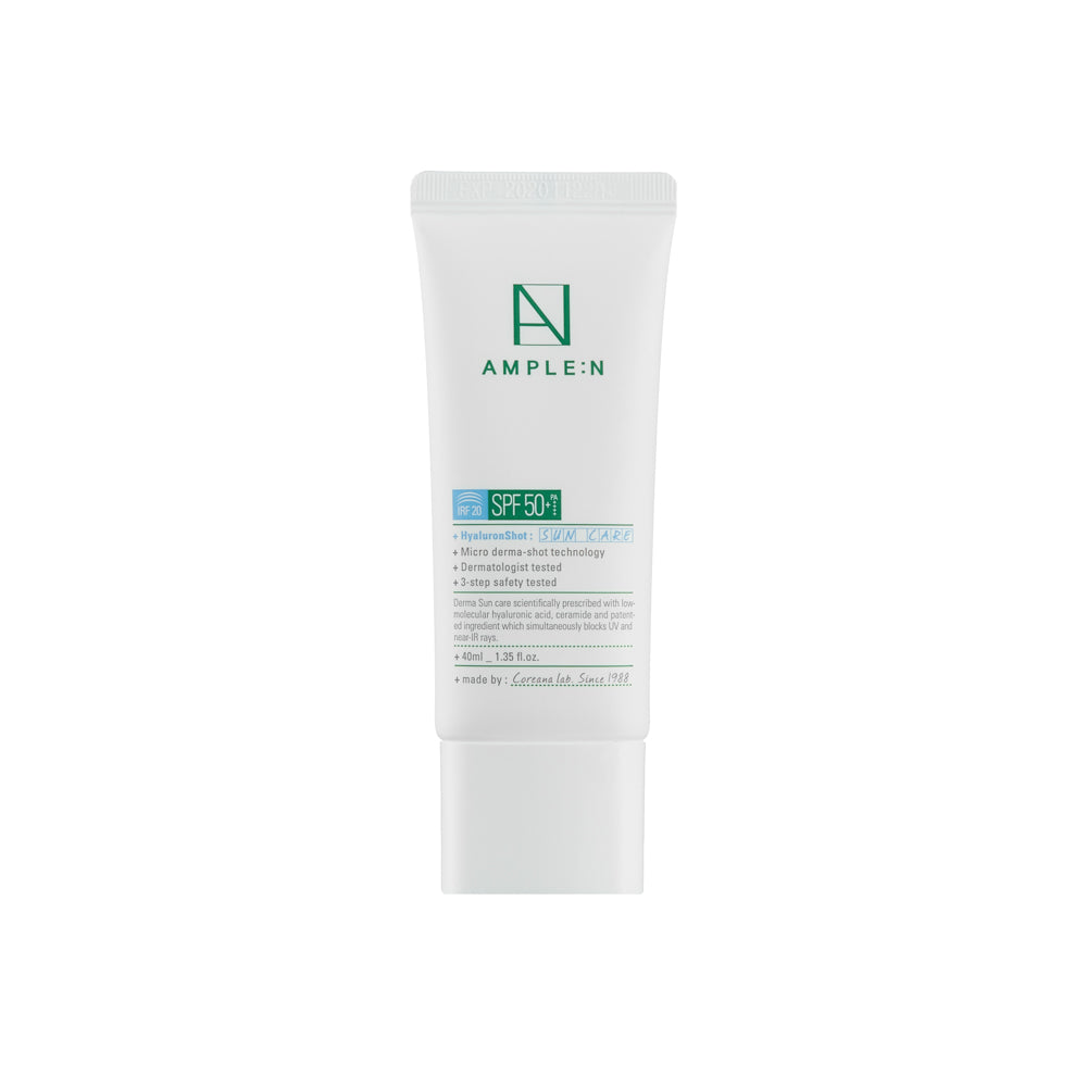 AMPLE:N Hyaluron Shot Sun Care SPF 50+ / PA++++ IRF 20 | 40ml