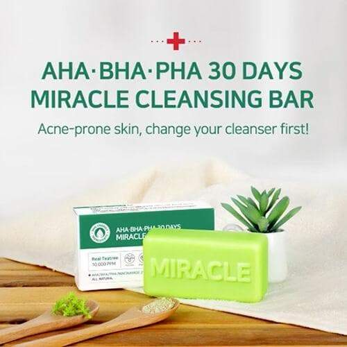 SOMEBYMI AHA BHA PHA 30 Days Miracle Cleansing Bar