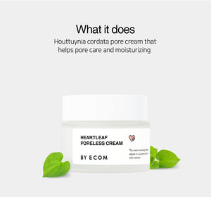 By Ecom Heartleaf Poreless Cream