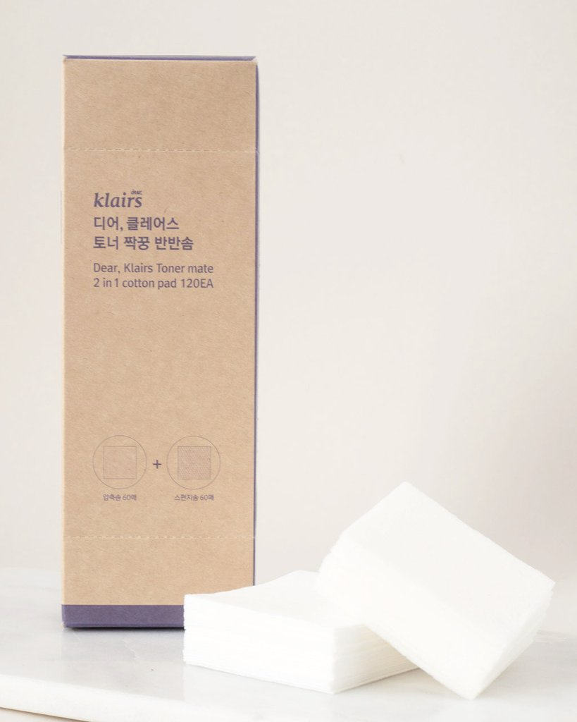 Klairs Toner Mate 2-in-1 Cotton Pad