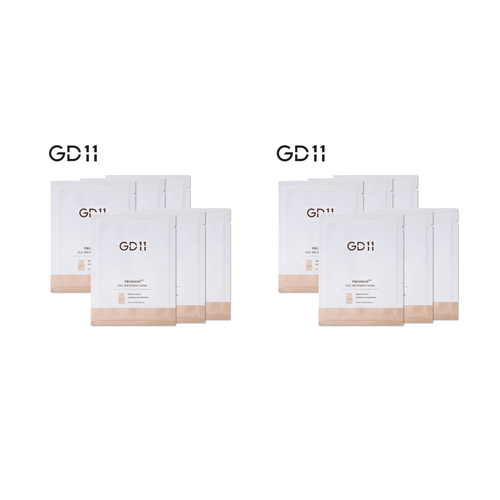 GD11 Premium RX Cell Treatment Mask 2 Boxes (16EA) + Free Powerball 4EA + Free Ampoule Sachet 6EA