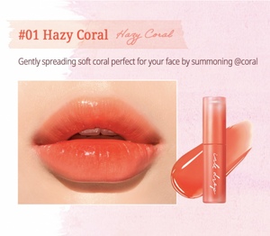 Peripera Ink Mood Drop Tint #01 Hazy Coral
