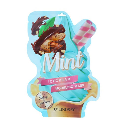 U:Lindsay Mint Ice Cream Modeling Mask 5EA