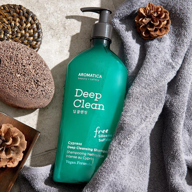 AROMATICA Cypress Deep Cleansin Shampoo 13.53oz