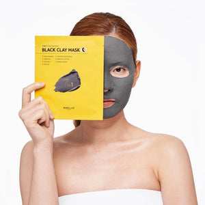 BARULAB 7 IN 1 Total Solution Black Clay Mask 5EA