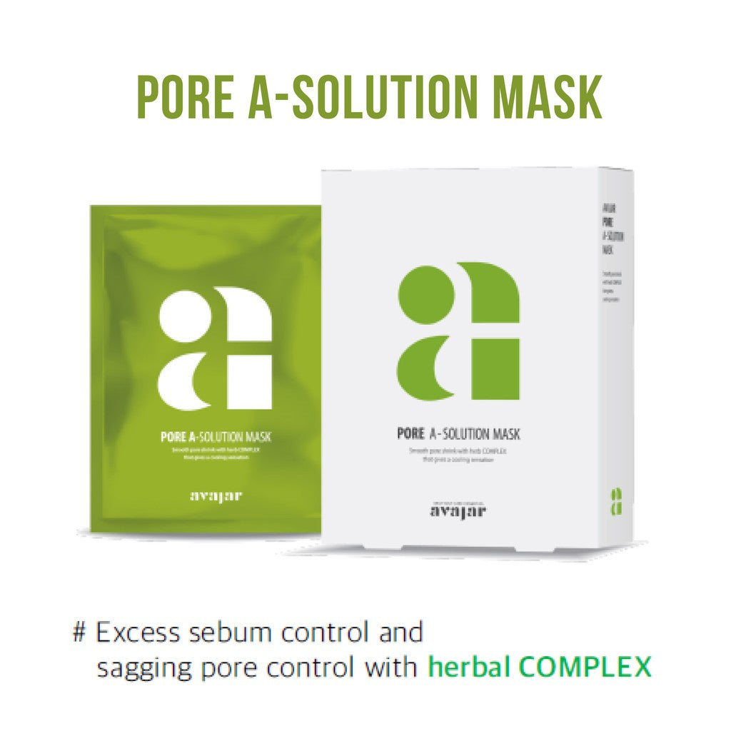 avajar - A-Solution Mask Pore 10EA [20210827]