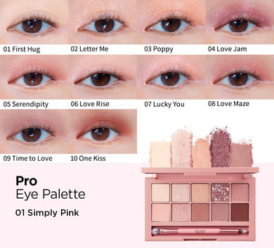 CLIO Pro Eye Palette #Simply Pink