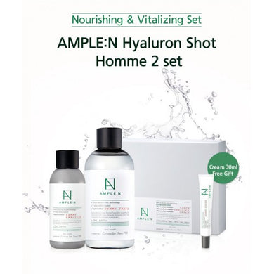 AMPLE:N Hyaluron Shot Homme 2set